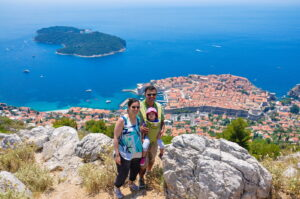 Dubrovnik View from Srdj hill
