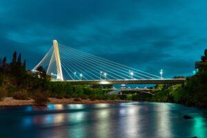 Podgorica center bridge